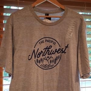 The Pacific Northwest gray t-shirt
